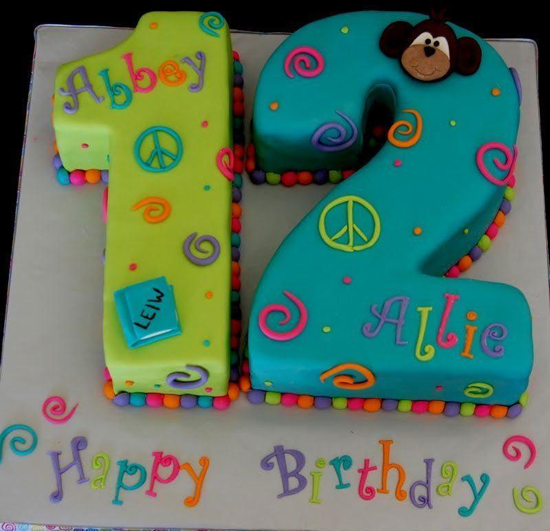 bánh sinh nhật cho bé 12 tuổi