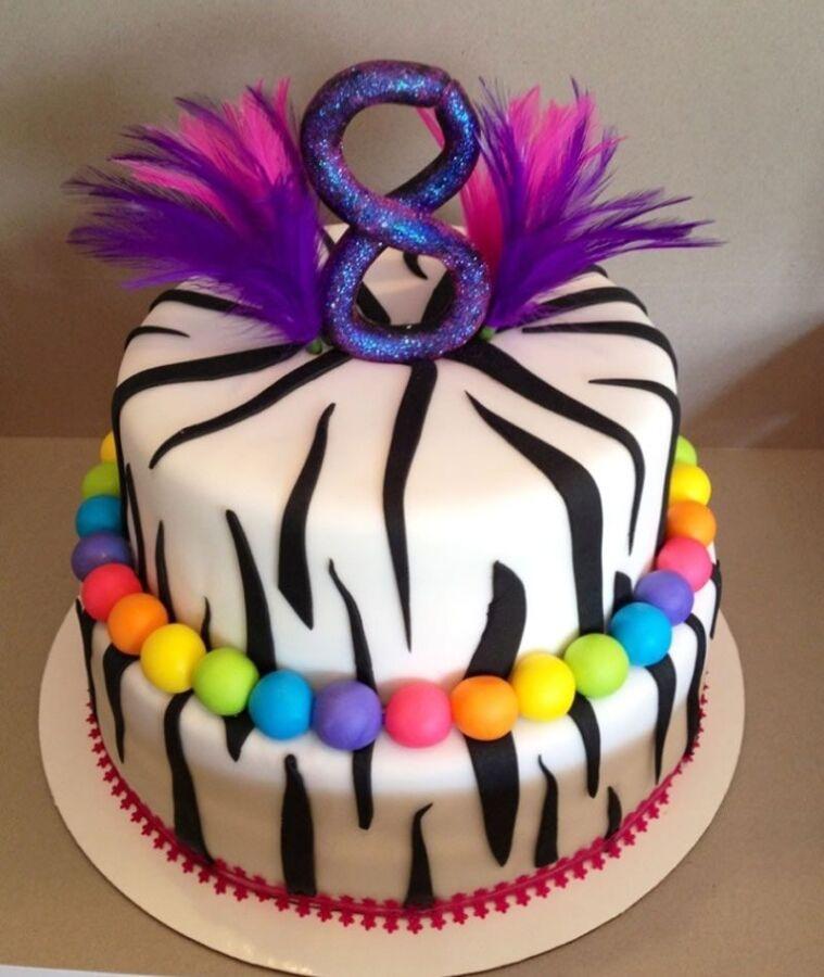 Bánh sinh nhật hay nhất dành cho be 8 tuổi