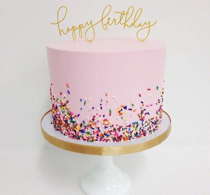 bánh sinh nhật dễ thương danh cho ma kết