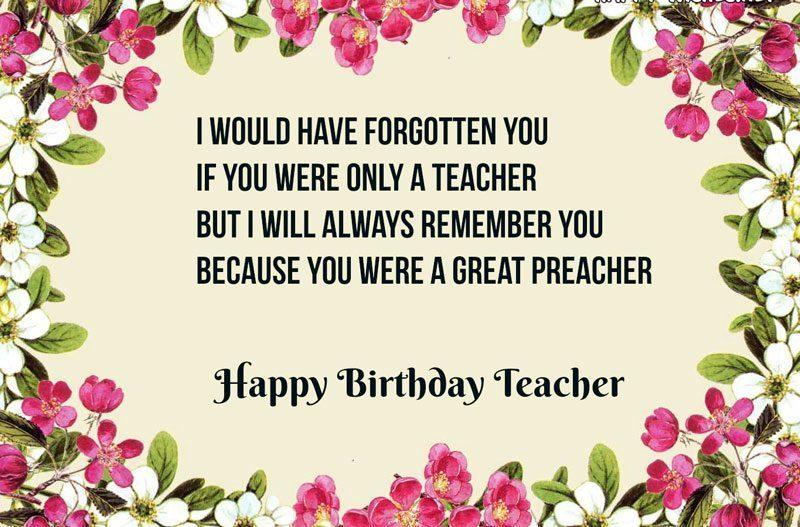 lời chúc dành cho thầy cô giáo hay nhất trong ngày sinh nhật