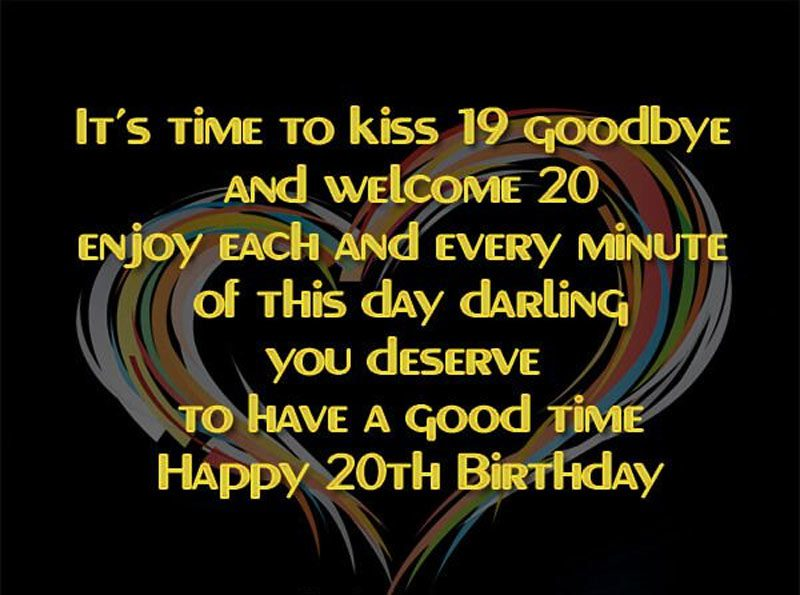 Lời chúc sinh nhật lần thứ 19 hay nhất
