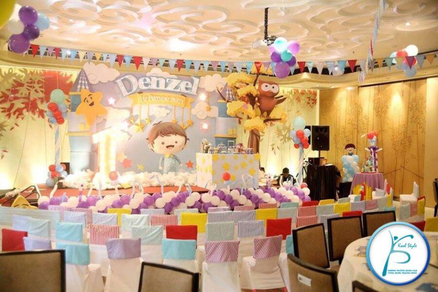Phòng tiệc sinh nhật 3d
