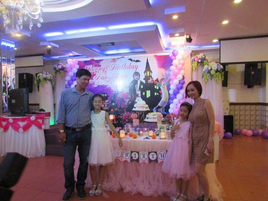 tổ chức sinh nhật cho bé 2 tuổi