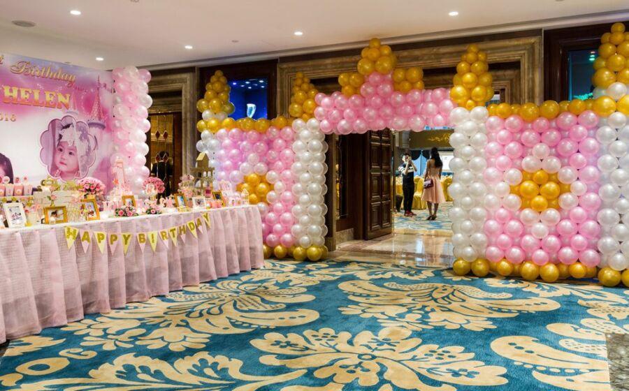 Tổ chức sinh nhật trọn gói cho be gái