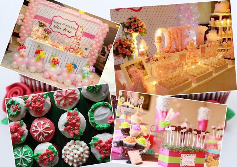trang-tri-ban-banh-cupcake