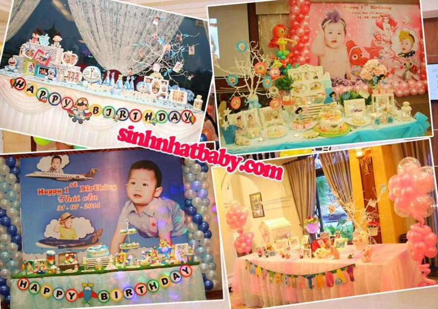 trang trí bàn lưu niệm sinh nhật