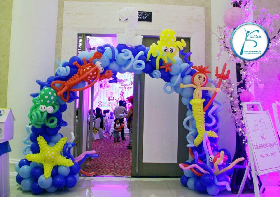 cổng bong bóng sinh nhật