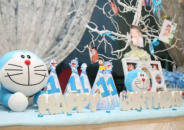 trang trí sinh nhật cho bé tại nhà