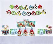 Set trang trí sinh nhật giá rẻ Angry Birds