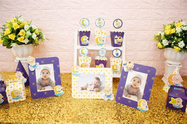 Set mini Baby Boy màu xanh hoàng gia