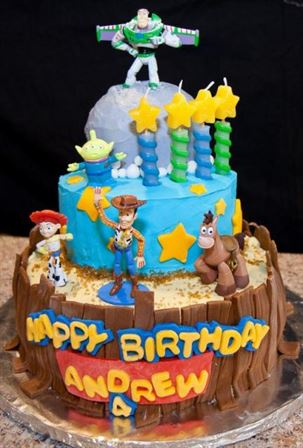 bánh sinh nhật 4 tuổi