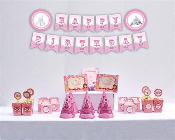 Set trang trí sinh nhật công chúa giá rẻ