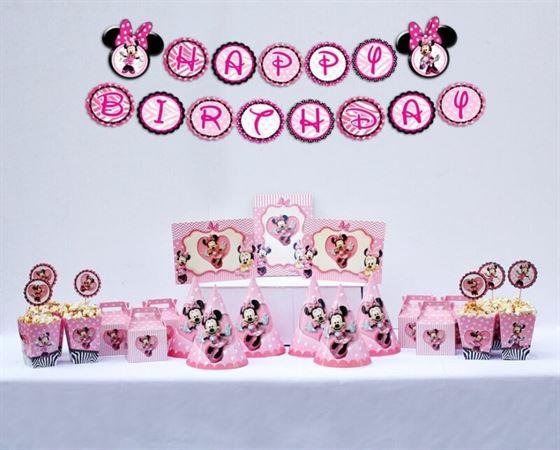 Set trang trí sinh nhật Minnie