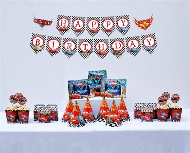 Set trang trí sinh nhật Mc Queen