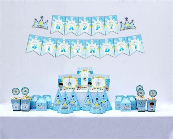 Set trang trí sinh nhật Hoàng Tử