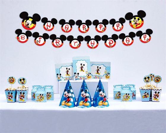 Set trang trí sinh nhật Mickey