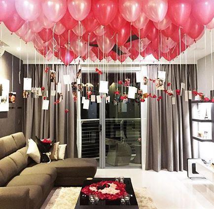Bong bóng bay trang trí cho tiệc sinh nhật