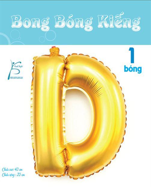 Bong Bóng Chữ  D