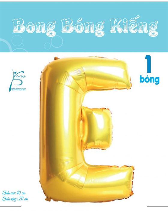 Bong Bóng Chữ E