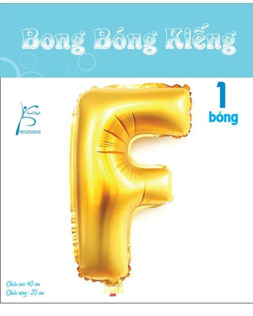 Bong Bóng Chữ  F