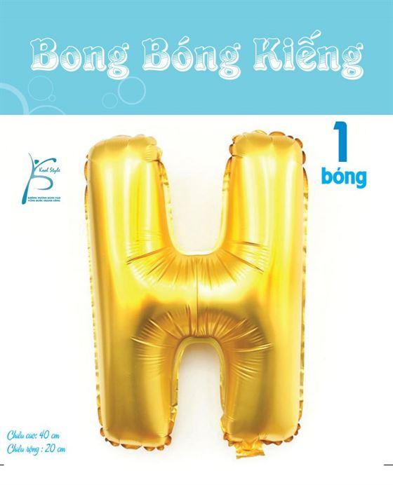 Bong Bóng Chữ  H