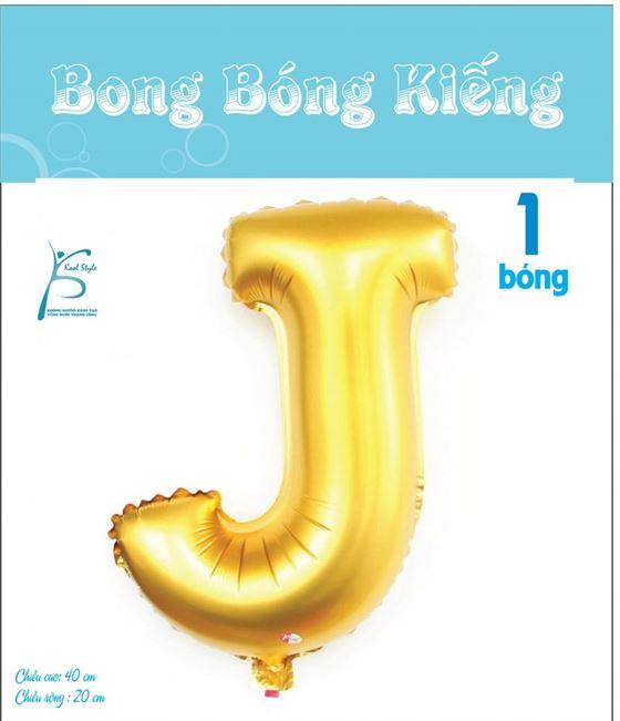 Bong Bóng Chữ J