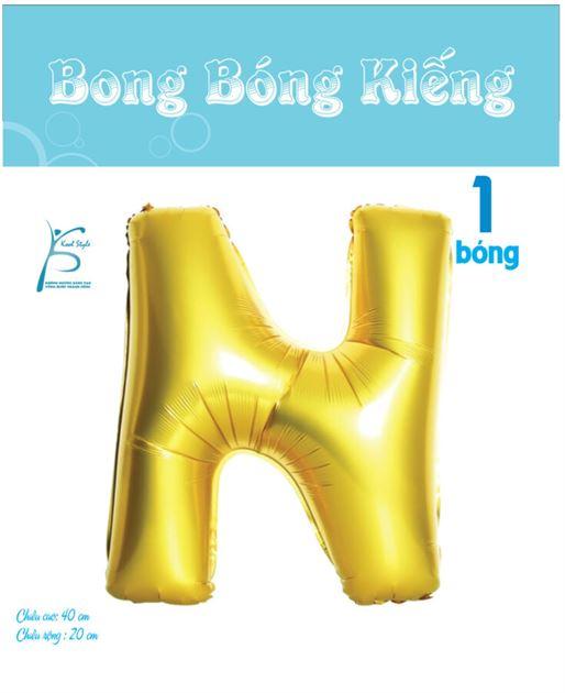 Bong Bóng Chữ  N