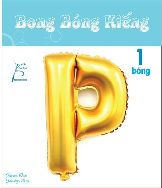 Bong Bóng Chữ  P