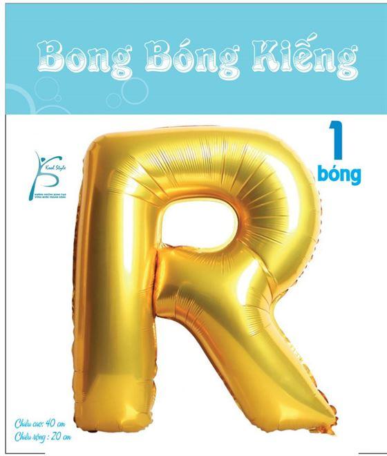 Bong Bóng Chữ  R