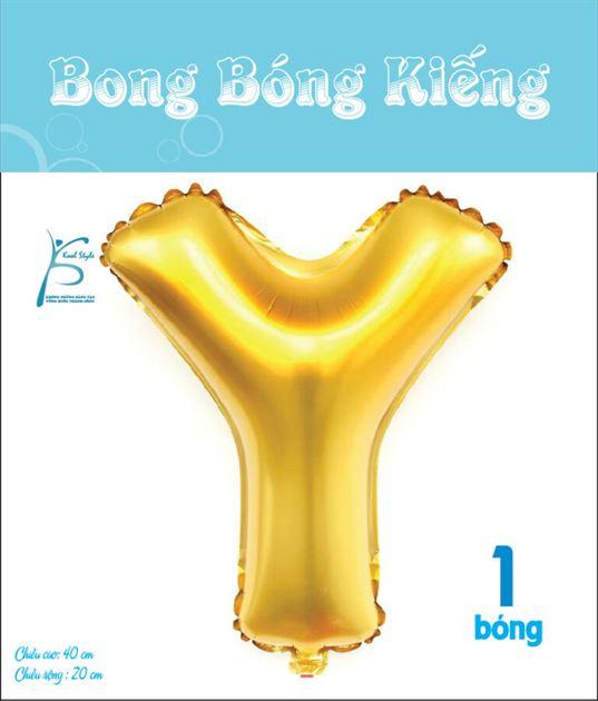 Bong Bóng Chữ  Y