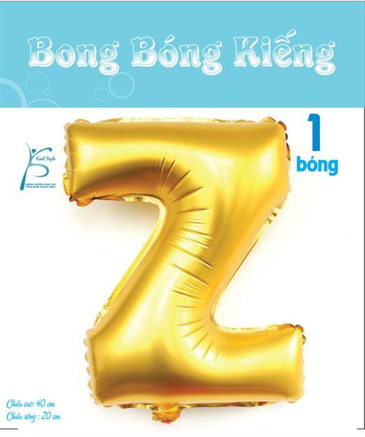 Bong Bóng Chữ  Z