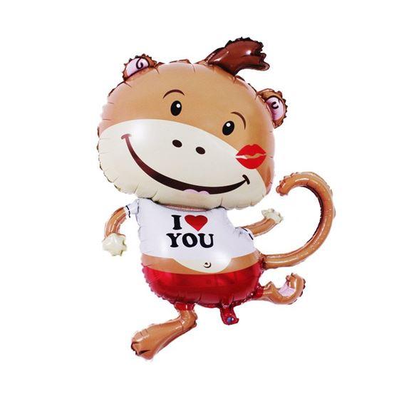 Bong bóng kiếng bé khỉ đáng yêu
