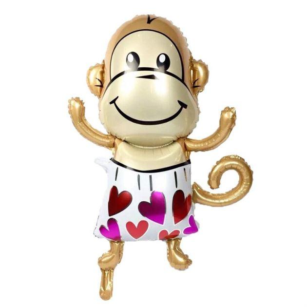 Bong bóng kiếng bé khỉ dễ thương
