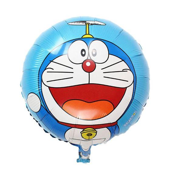 Bong bóng kiếng sinh nhật chủ đề Doraemon