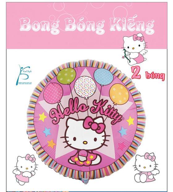 Bong Bóng Kiếng chủ đề Kitty