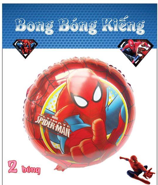Bong Bóng Kiếng chủ đề spiderman