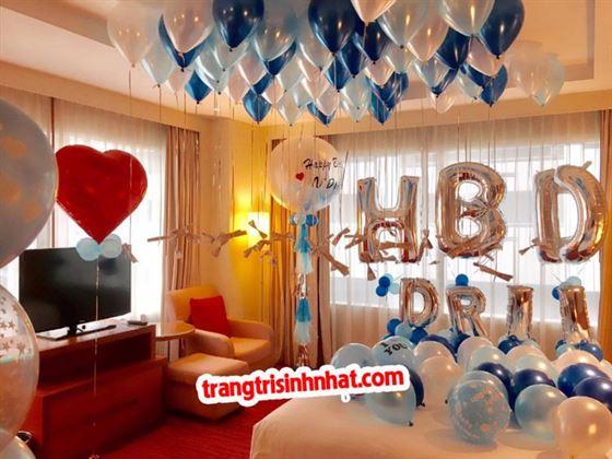 Trang trí sinh nhật người yêu bằng Love Balloons