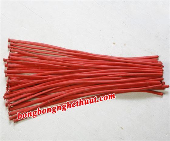 Bong Bóng Tạo Hình 160 màu đỏ