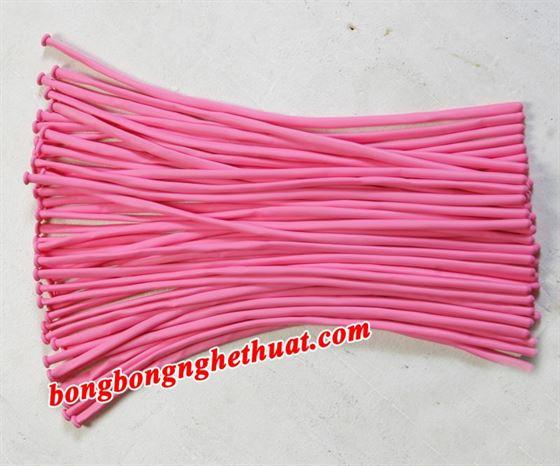Bong Bóng Tạo Hình 160 màu hồng