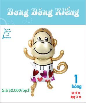Bong bóng trang trí bé khỉ dễ thương
