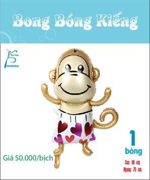 bìa bong bóng kiếng bé khỉ dễ thương