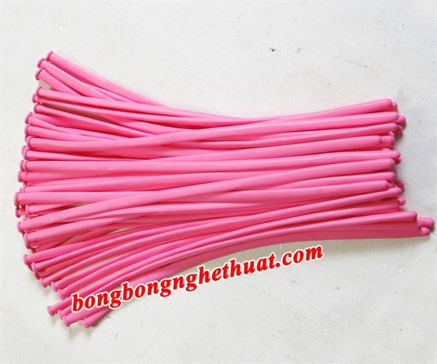 Bong Bóng Tạo Hình 260 màu hồng