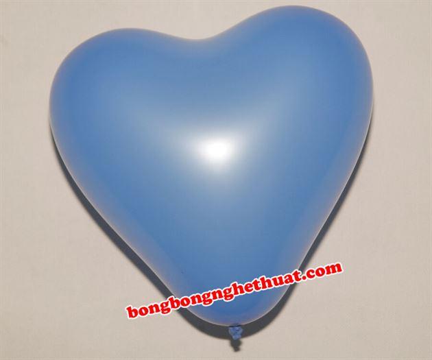 Bong Bóng Trái Tim màu xanh dương