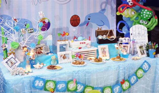 Các kiểu trang trí bàn tiệc sinh nhật