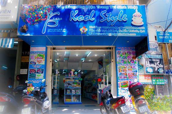 cửa hàng bán đồ sinh nhật tại kool style