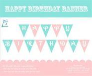 Dây chữ Happy Birthday màu hồng xanh min