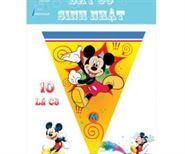 Dây Cờ Sinh Nhật Chủ Đề Mickey
