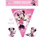 Dây Cờ Sinh Nhật Chủ Đề Minnie