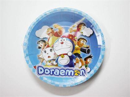 Đĩa giấy sinh nhật Doraemon