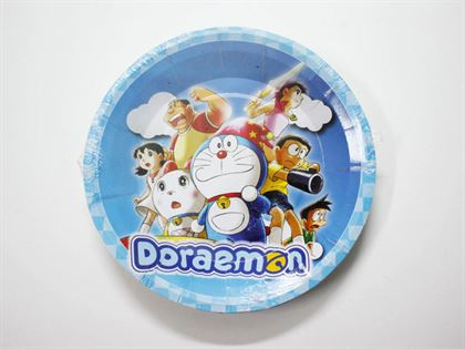 đĩa sinh nhật doraemon